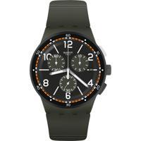 941045f8008 Relógio Swatch Masculino Borracha Cinza - Susm405