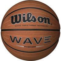 Bola De Basquete Wave Phenom 7 Wilson - Unissex-Marrom