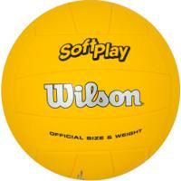 Bola De Vôlei Wilson Soft Play - Amarelo