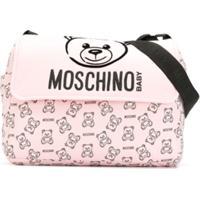 Moschino Kids Bolsa Maternidade Teddy Bear - Rosa