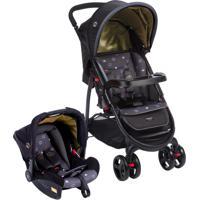 Carrinho De Bebê Travel System Nexus Até 15Kg Preto Cosco