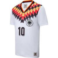 Camisa Alemanha Retrô 1994 Masculina - Masculino-Branco