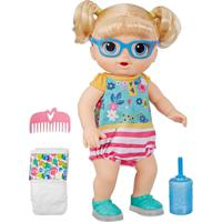 Boneca Baby Alive Sapatinhos Brilhantes Loira - Hasbro
