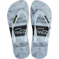 Chinelo Coca-Cola Fountains Masculino - Masculino