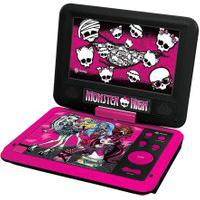 Dvd Player Portátil - Monster High - Tectoy
