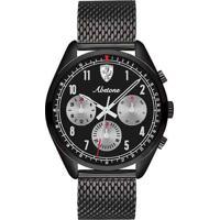 Relógio Scuderia Ferrari Masculino Aço Preto - 830573