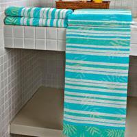 Jogo De Toalhas Com 2 Para Banho E 2 Para Rosto Riviera Azul Claro