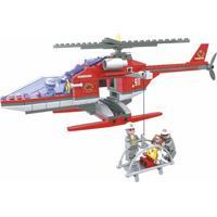 Bombeiro Helicóptero 208 Pçs - Playcis