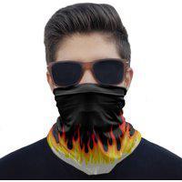 Máscara Bandana Fogo Flame Proteção Ciclismo Pesca Moto