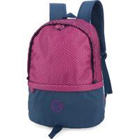 Mochila Escolar Luxcel Barbie Para Notebook Azul