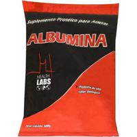 Albumina - 500G - Health Labs - Morango C/ Banana