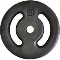 Anilha Pintada Para Musculação De Peso 10Kg Unidade - Unissex