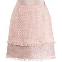 Pinko Minissaia De Tweed - Rosa