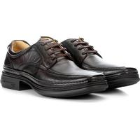 Sapato Pipper Francis Masculino - Masculino-Marrom Escuro