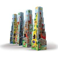 Brinquedo Infantil Jokenpô / Ligno Torre De Estrelas - Unissex-Incolor