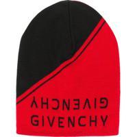 Farfetch  Givenchy Gorro Com Logo - Vermelho f264a0fbd6b