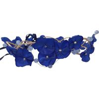 Headband Fuxicos & Frescuras Coroa De Fada Dupla Azul Royal