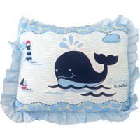 Travesseiro Minasrey Filhotes Azul