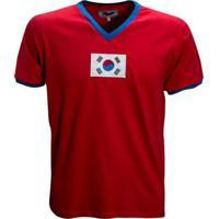 Camisa Liga Retrô Coréia Do Sul 1970 - Masculino
