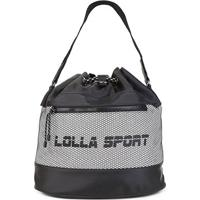Bolsa Santa Lolla Sport Saco Nylon Feminina - Feminino-Preto