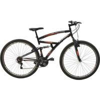 Bicicleta Full Suspension Eagle Aro29 V- Brake 21 Marchas Aço Carbono Polimet - Unissex