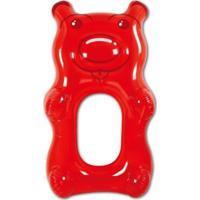 Bóia Inflável Gigante Urso Vermelho - Unissex