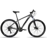 Bicicleta Aro 29 Prox 24V Shimano K7 Comp. Freio Hidráulico Suspensão Trava - Unissex