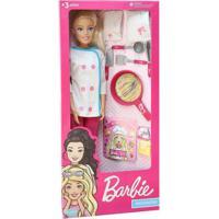 Boneca Barbie - 67Cm - Barbie Chef De Cozinha - Pupee