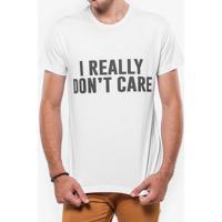 Camiseta I Really Don'T Care 103440