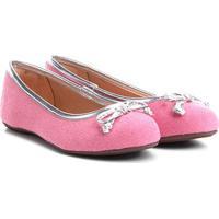 62f20def4 ... Sapatilha Infantil Shoestock Tecido Feminina - Feminino-Pink