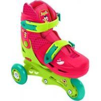 Patins X Roller Inline Belfix Turma Monica - Magali 29-36 - Bel Fix