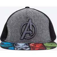 Boné Avengers Infantil - Tam U