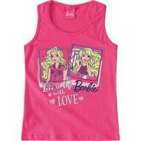 Blusa Barbie® Menina Malwee Kids