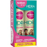 Kit Salon Line Hidra Original Shampoo + Condicionador 300Ml