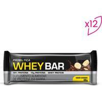 Whey Bar®- Banana- 12 Unidades- Probióticaprobiotica