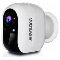 Câmera Bateria Compatível Com Alexa / Google - Multilaser