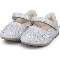 Sapatilha Infantil Bibi Anjos Mini Feminino Prata - 1072201