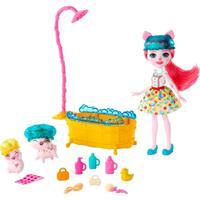Boneca Enchantimals Hora Do Banho - Mattel