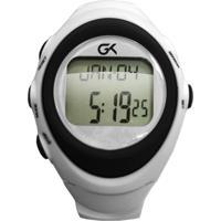 Monitor Cardíaco Guga Gk6100 Com Marcação De Hora, Calendário, Alarme E Cálculo De Calorias - Kikos