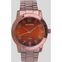 e6f529dd1e0 CEA  Relógio Analógico Mondaine Feminino - 76514Lpmvme6 Marrom - Único