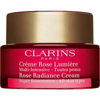 Creme Facial Clarins Anti-Idade Rose Radiance 50Ml - Unissex-Incolor