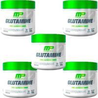 Kit 5X Glutamina Pura Musclepharm - Unissex