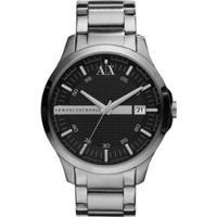 Relógio Armani Exchange Ax2103/1Pn 46Mm Aço Masculino - Masculino-Prata