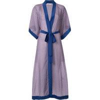 Mitos Kimono Kate Longo - Azul