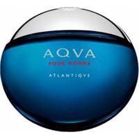 Perfume Bvlgari Aqva Atlantiqve Eau De Toilette Masculino 100Ml - Masculino-Incolor