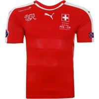 Camisa Puma Suíça Home 2016 Euro Matchday Masculina - Masculino
