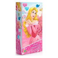 Quebra-Cabeça Princesas Metalizado Aurora 200 Peças -Toyster