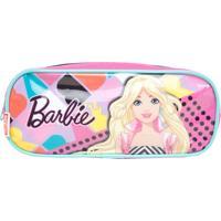 Estojo Sestini Barbie 17M Duplo Rosa