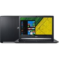 "Notebook Acer Aspire A515-51-55Qd Intel Core I5-7200U 4Gb Hd 1Tb Tela 15.6"" Led Windows 10 – Preto"