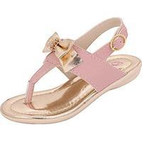 Sandália Infantil Plis Calçados Docinho - Feminino-Rosa
